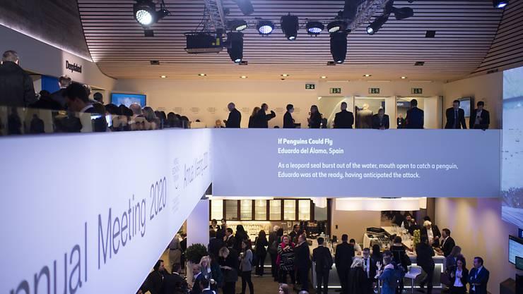 Das Davoser Kongresszentrum ist der Austragungsort der meisten Veranstaltungen des Weltwirtschaftsforums (WEF).