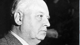 Der Winterthurer Kunstsammler Oskar Reinhart (1885-1965), aufgenommen im Jahr 1951 (Archiv)