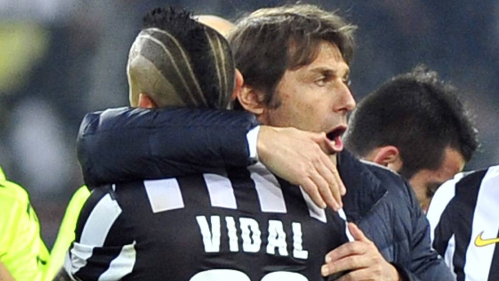 Antonio Conte kann wieder auf Arturo Vidal zählen