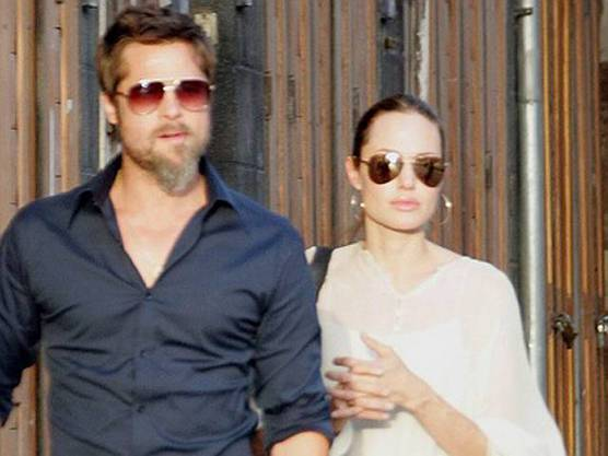 Brad und Angelina in Syrien (Archiv)