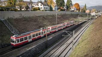 Geht es nach einem Vorschlag aus der SVP, so wird in Liestal das Waldenburgerbahn-Trassee bis zum Altmarkt durch eine Strasse ersetzt, auf der Busse fahren.Kenneth Nars