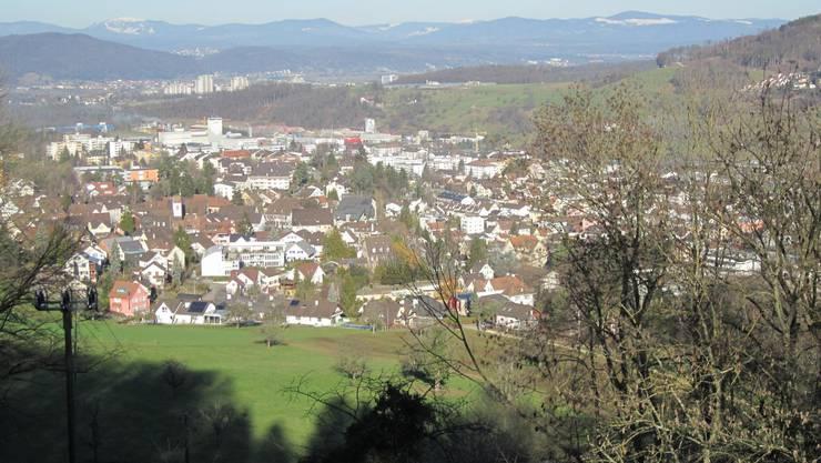 Blick auf Frenkendorf