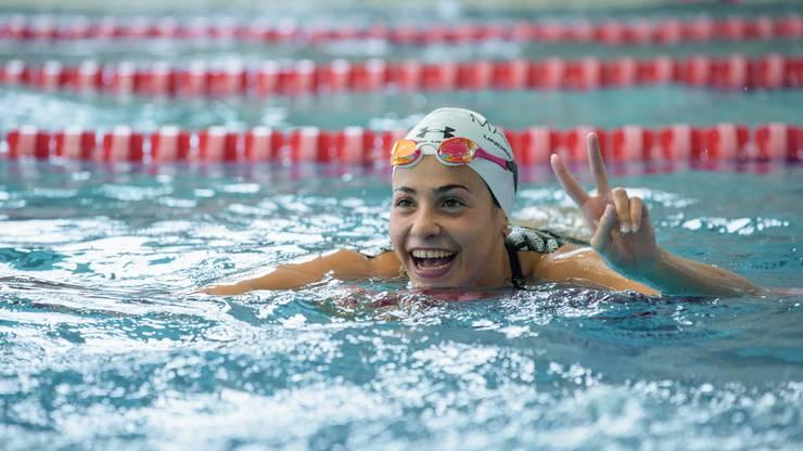 Dank dem Schwimmsport findet Yusra Mardini schnell Anschluss.