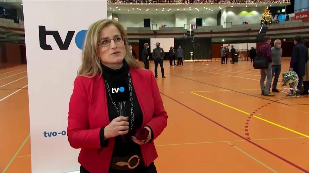 Historisch: Maria Pappa ist Stadtpräsidentin