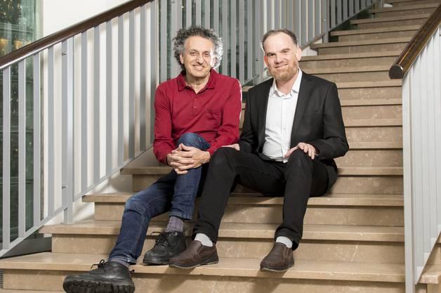 Kaser Alasaad und Ron Halbright bringen Juden und Muslime zusammen.