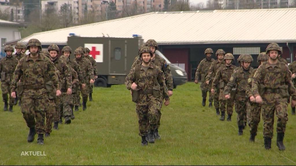 Erster Armee-Einsatz im Aargau