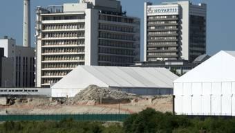 Der Novartis-Campus in Basel