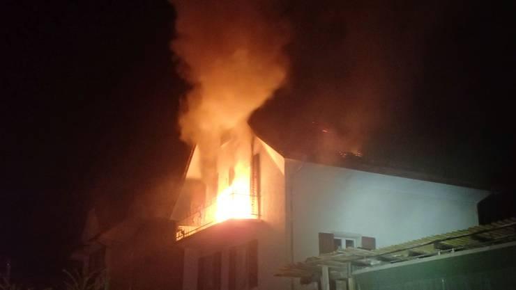 In Zofingen brannte am 30. August ein Haus.