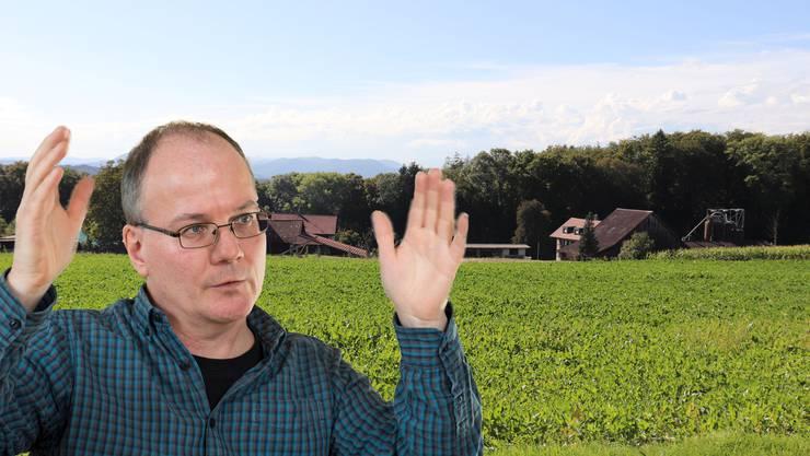 Max Chopard fordert weite Massnahmen, obwohl Obersiggenthal bereits drei Quellen vom Wasser genommen hat.