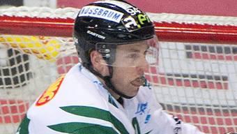 Rettete im ersten Spiel in Martigny einen Punkt, wird aber im Rückspiel fehlen: Marco Truttmann. Bieri/Archiv
