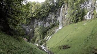Die Einstiegsstelle der Canyoning-Gruppe in der Schlucht des Fallenbachs (Archiv)