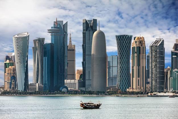 Ohne Autos wäre Doha eine Geisterstadt.