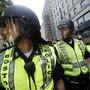 Hunderte Polizisten waren am Donnerstag bei einem Schlag gegen eine Gangsterbande in der Gegend von Boston beteiligt. (Symbolbild)