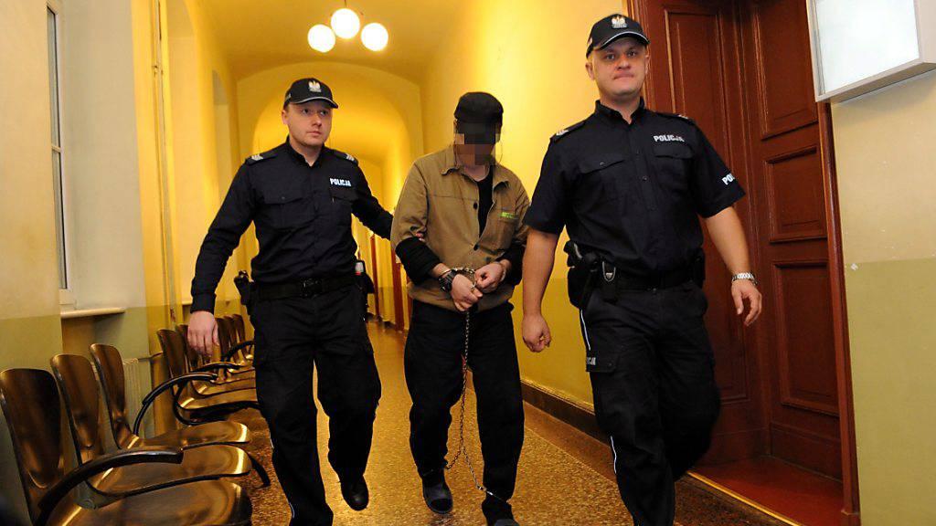 Der mutmassliche Täter wurde nach seiner Verhaftung an der deutsch-polnischen Grenze von Polen an die Schweiz ausgeliefert. (Archivbild)