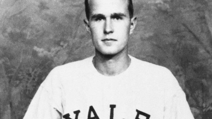 Vom Yale-Studenten zum US-Präsidenten: George Herbert Walker Bush legte eine beeindruckende Karriere hin.