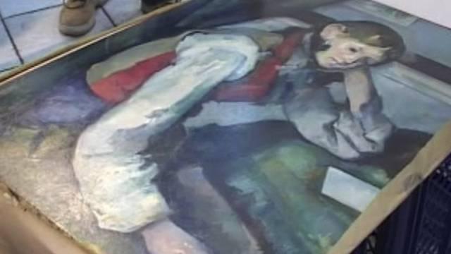 """Das Cézanne-Ölgemälde """"Der Knabe mit der roten Weste"""" ist wieder in der Schweiz"""