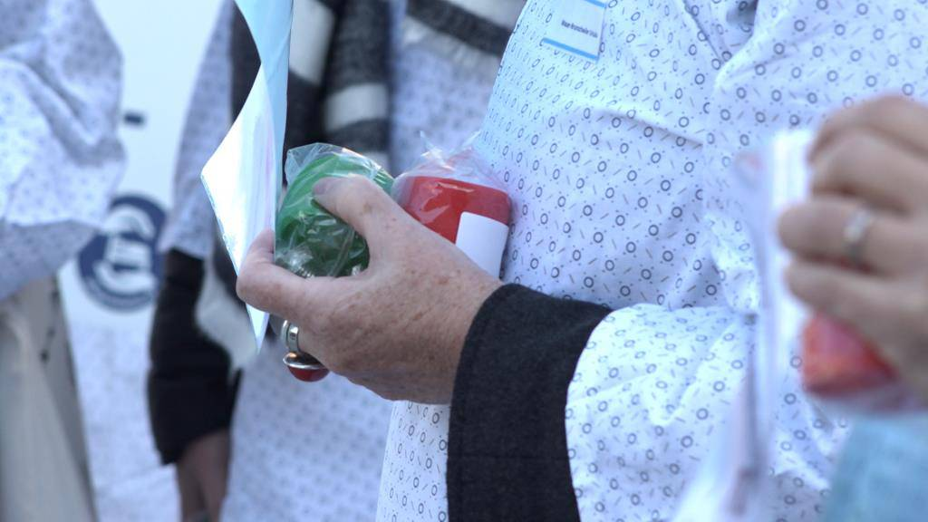 Pflegefachkräfte demonstrieren (© FM1Today/NinaMüller)