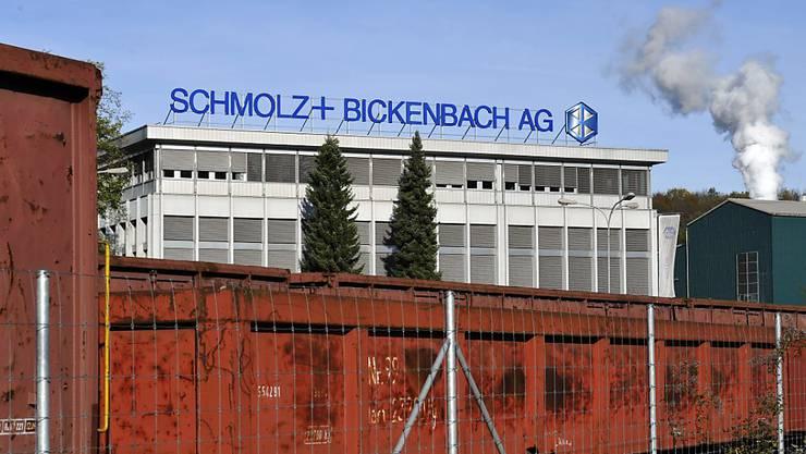 Schmolz+Bickenbach will bei der Konsolidierung in der europäischen Speziallangindustrie vorne mitspielen und bietet deshalb für das französische Unternehmen Asco Industries. (Archiv)