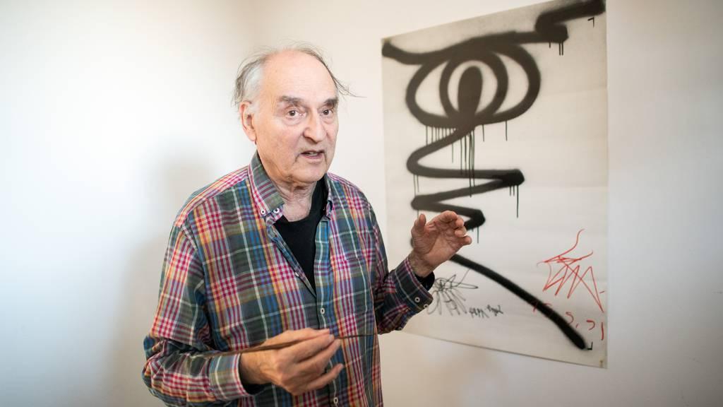 Harald Naegeli erhält den Kunstpreis der Stadt Zürich