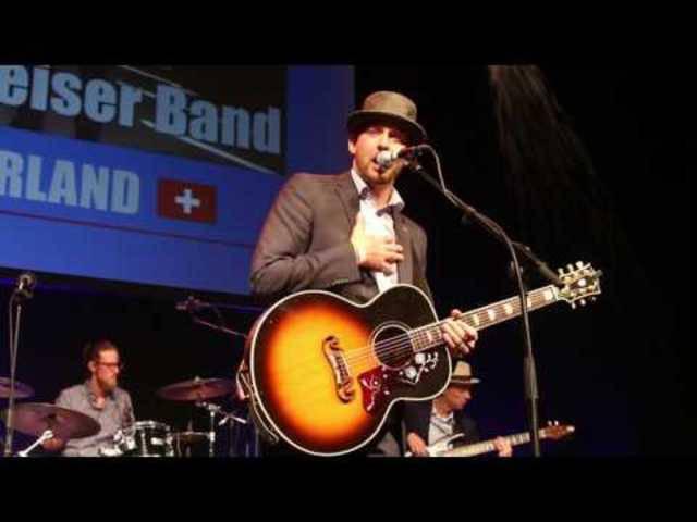 Der Auftritt von Pascal Geiser und Band in Dänemark.