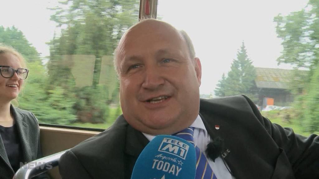 «Ich bin etwas nervös»: Frisch gewählter Regierungsrat Peter Hodel tritt sein Amt an
