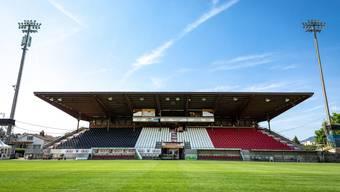 Trainingsbetrieb eingestellt: Das Brügglifeld-Stadion bleibt bis auf weiteres verwaist