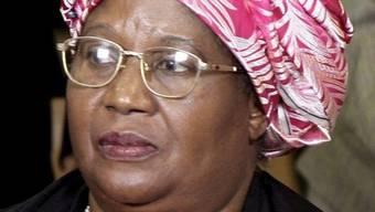 Die malawische Präsidentin Joyce Banda beharrt nicht auf exzentrischer Anrede (Archiv)