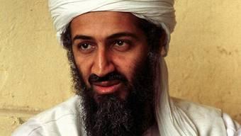 Archivaufnahme des in Pakistan getöteten Terroristenführers Osama Bin Laden