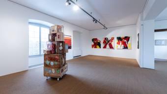 Ausstellung Visarte im Schlösschen Vorder-Bleichenberg