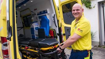 Horst Heckendorn arbeitet seit rund drei Jahrzehnten als Notfallsanitäter. 2015 lancierte er seine zweite Karriere – aber nicht ganz freiwillig.