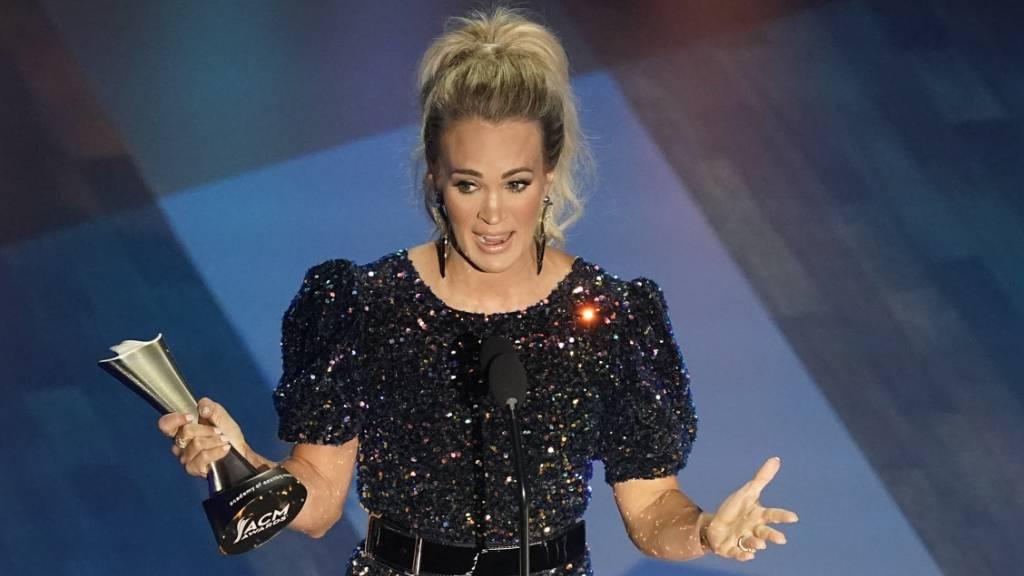 Carrie Underwood und Thomas Rhett zu «Entertainern des Jahres» gekürt