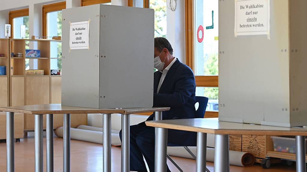Beide Kreuze erkennbar: Laschet-Stimmabgabe sorgt für Diskussionen