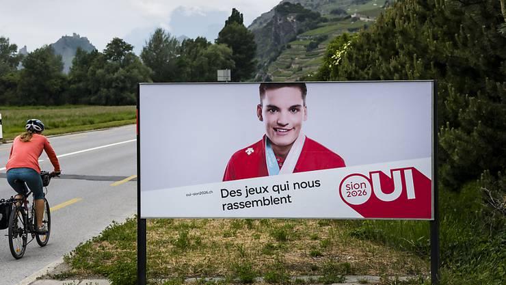 """Die Kampagne der Befürworter von """"Sion 2026"""" hat das Walliser Stimmvolk nicht überzeugt. (Archivbild)"""