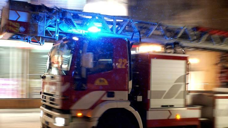 Die Feuerwehr konnte alle Bewohner rechtzeitig evakuieren.