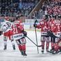 Die Kanadier jubeln, für die Tschechen ist der Spengler Cup vorbei