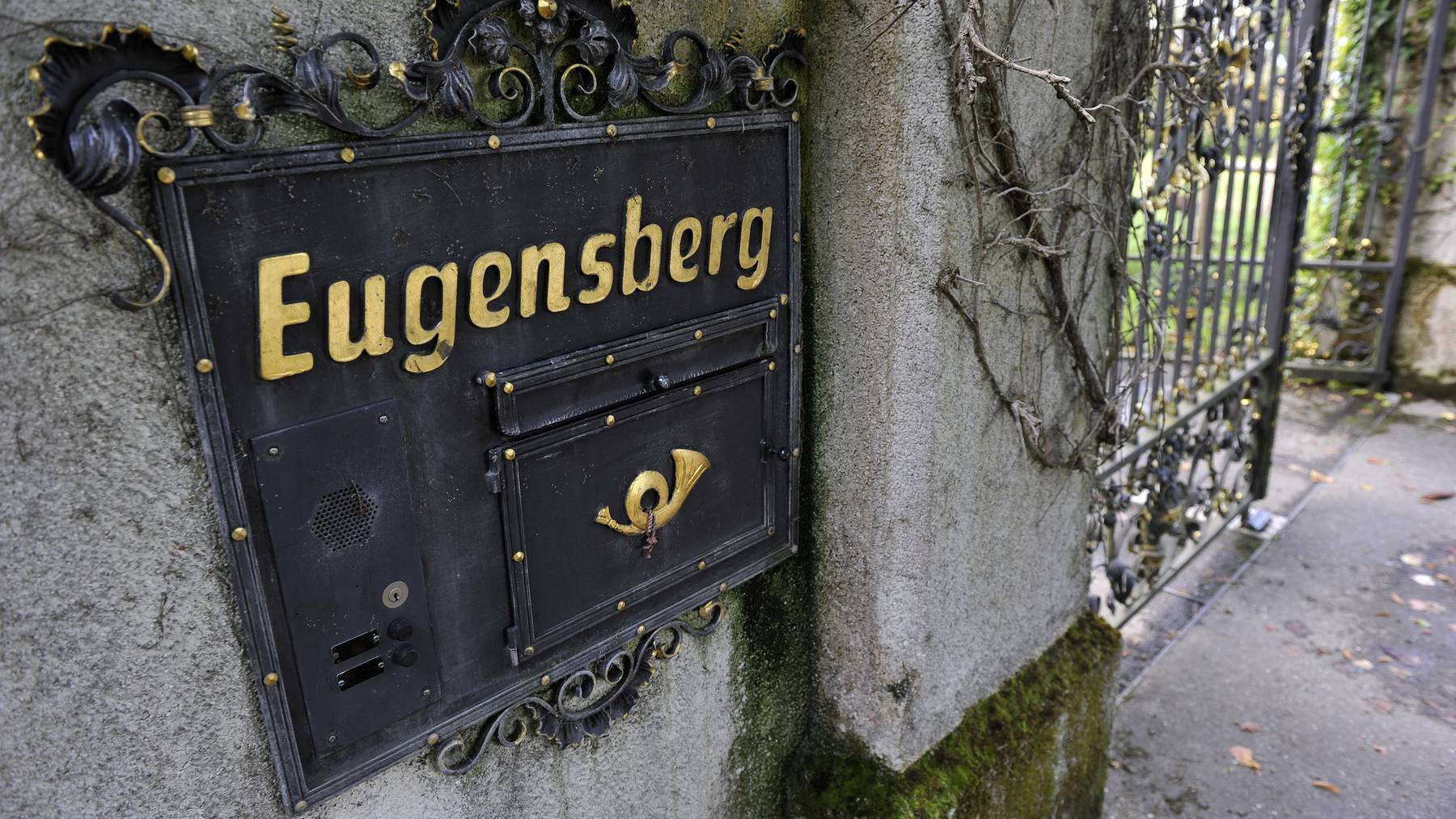 Das Schloss Eugensberg im Thurgau.