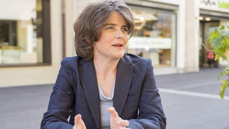 SP-Sicherheitsdirektorin Kathrin Schweizer wurde von den Bürgerlichen hart angegangen.