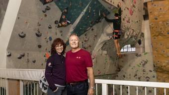 Patrick und Patricia Hilbers Kletterzentrum auf dem Schlieremer Gaswerk-Areal feiert Geburtstag