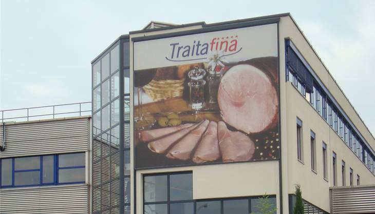 Der Hauptsitz der Traitafina AG in Lenzburg AG: Die einstige Tochterfirma der Konservenherstellerin Hero beliefert in erster Linie Restaurants und Hotels mit Fleischprodukten.
