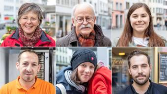 Das sagen Aargauerinnen und Aargauer zur gegenwärtigen Corona-Krise.