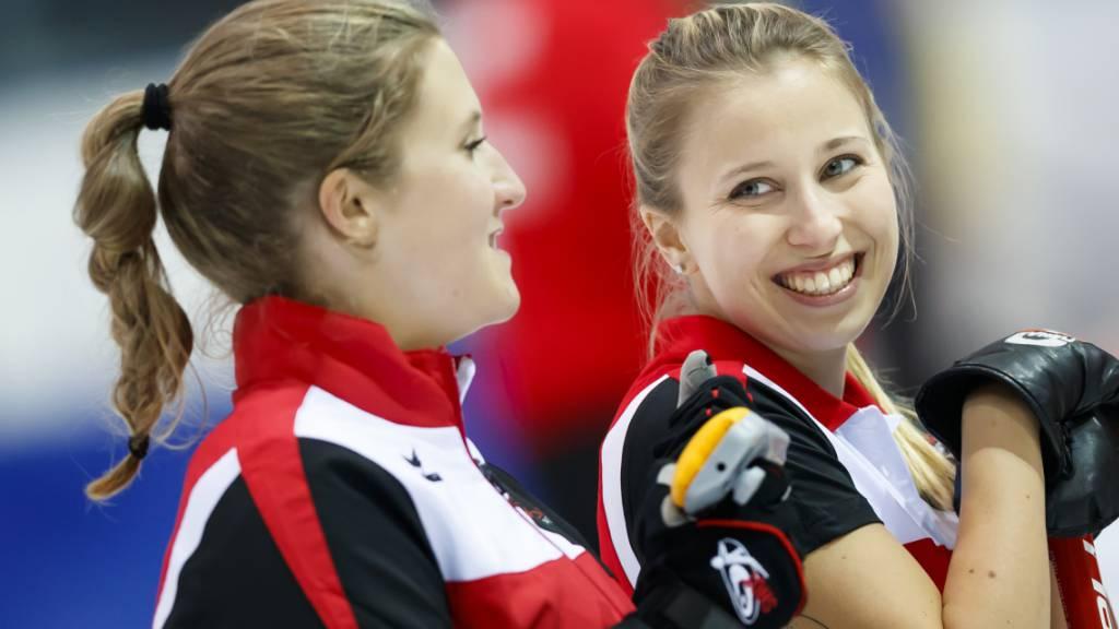 Schweizer Curler überzeugen am besten Turnier