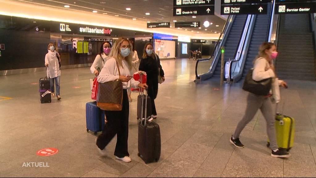 Quarantäne für Reisende aus Risikogebieten: Was heisst das für Betroffene?