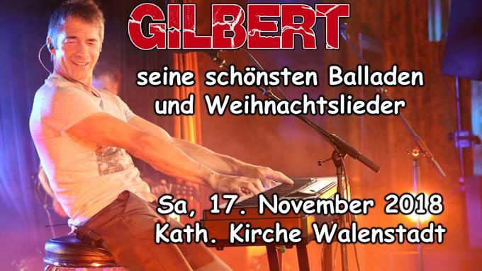 Gilbert & Band in Walenstadt mit Weihnachtskonzert