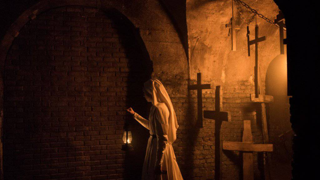 «The Nun» auf Anhieb auf Platz 1