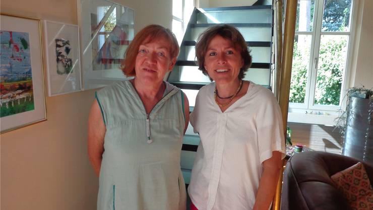 Therese Frei und Käthi Hofer sind die Initiantinnen der Sprachbrücke Grenchen.