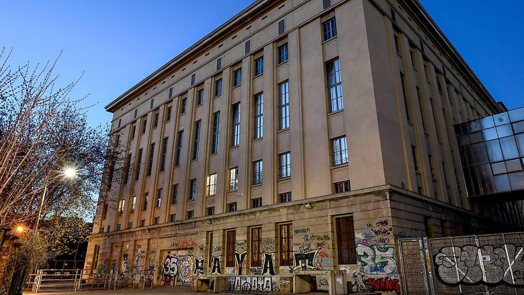 Berghain in Berlin öffnet erstmals wieder die (Garten-)Tür