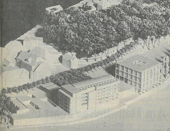 1989 Seniorenresidenz am Standort des alten Römerbades.