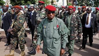Anschlag auf Chef der Militärjunta in Guinea