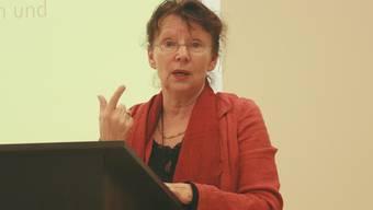 Kathrin Potratz plädierte für die Unterstützung durch die Gemeinde.ISS