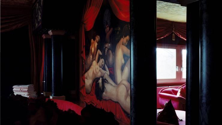Ihre Expeditionen ins Sexbusiness verunsicherten und irritierten die Autorin Nora Bossong zusehends. Blick in ein Bordell in Berlin. Katharina Bosse/laif